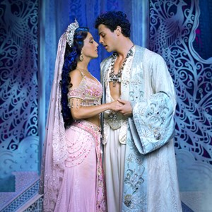 Aladdin and Jasmine Wedding credit Disney