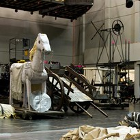 Theatre props and stage design