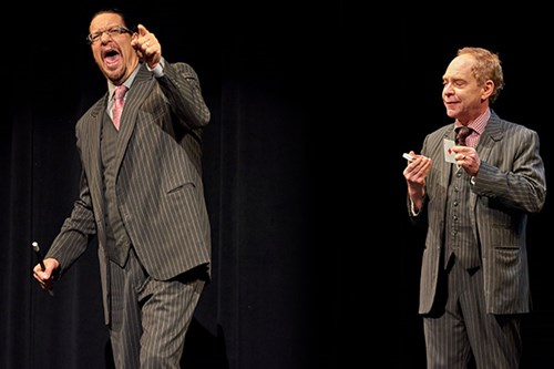 Penn and Teller On Stage