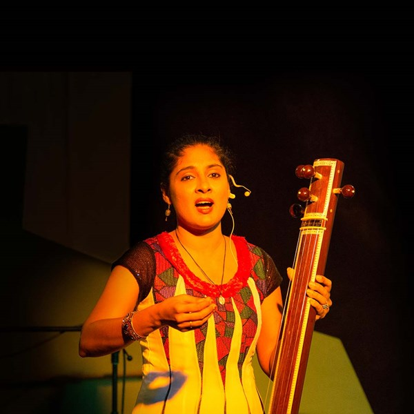 Charulatha Mani – Guest Artist for JADE's premiere concert, Crystal