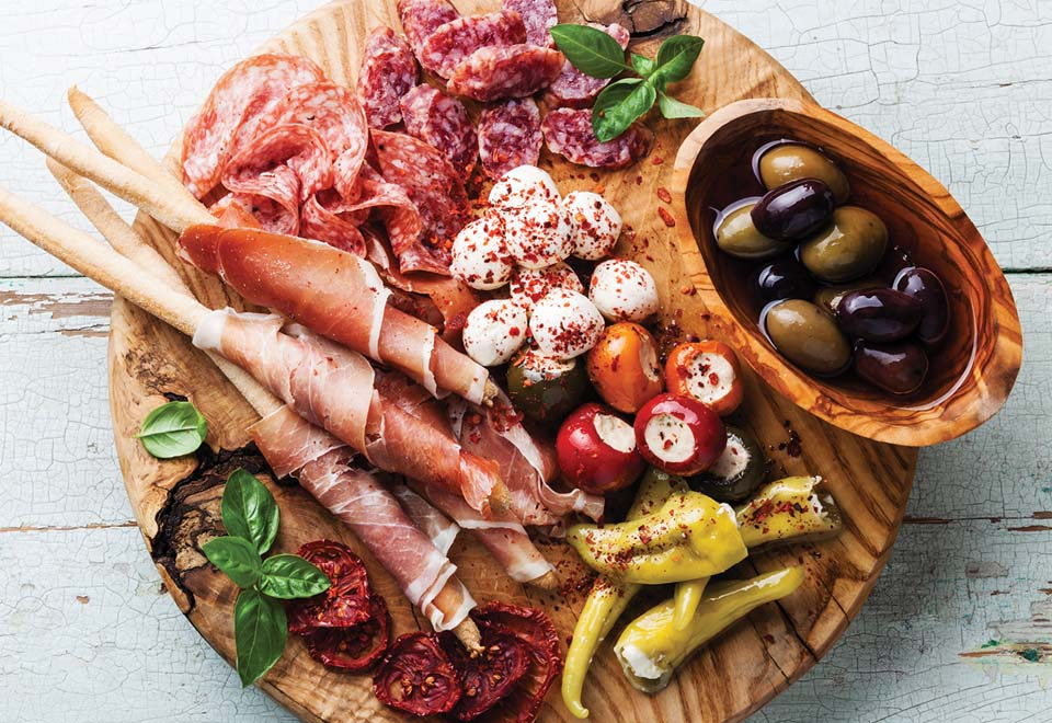 Antipasto Platters, Lyric Theatre Bar
