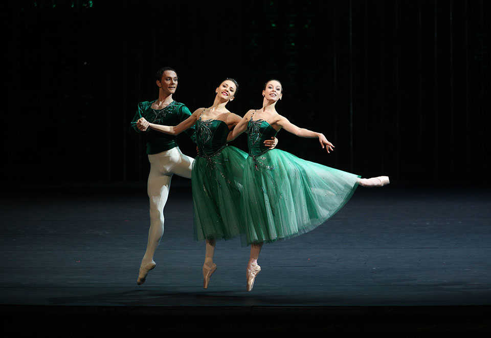 Bolshoi Ballet's Jewels Act I