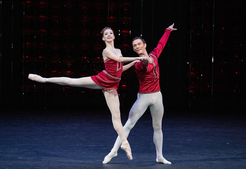 Bolshoi Ballet's Jewels Act II