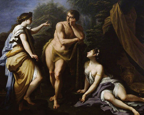 Artist painting of Hercules