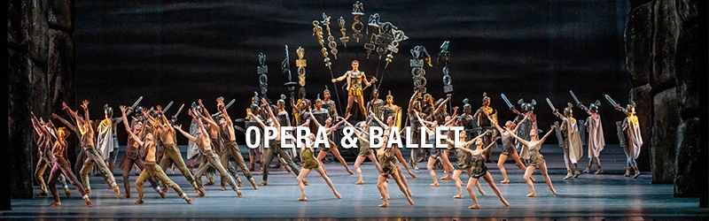 Explore ballet and opera productions made available online