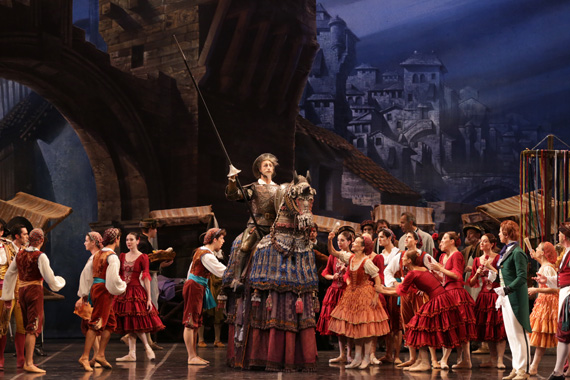 Don Quixote – Photo By Marco Brescia & Rudy Amisano courtesy of Teatro alla Scala